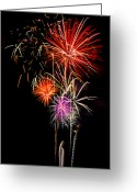 4th Greeting Cards - 4th of July 2012 Greeting Card by Saija  Lehtonen