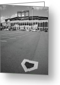 Murals Greeting Cards - Citi Field - New York Mets Greeting Card by Frank Romeo