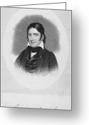 Autograph Photo Greeting Cards - Davy Crockett (1786-1836) Greeting Card by Granger