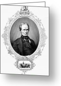 Mathew Greeting Cards - Henry Clay (1777-1852) Greeting Card by Granger
