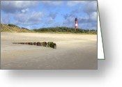 Lighthouse Greeting Cards - Hoernum - Sylt Greeting Card by Joana Kruse
