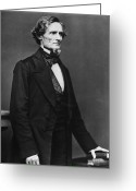 Mathew Greeting Cards - Jefferson Davis Greeting Card by Granger