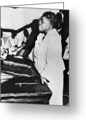 Civil Rights Greeting Cards - Mary Mcleod Bethune Greeting Card by Granger
