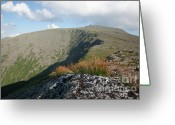 Glacier Greeting Cards - Mount Washington - New Hampshire USA Greeting Card by Erin Paul Donovan