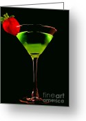 Liquid Greeting Cards - 5 Oclock Somewhere Greeting Card by Darren Fisher
