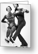 Ice Skater Greeting Cards - Olympic Games, 1976 Greeting Card by Granger