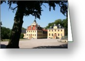 Weimar Greeting Cards - Palace Belverdere - Weimar Greeting Card by Christiane Schulze