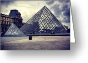 Picoftheday Greeting Cards - Paris Greeting Card by Luisa Azzolini