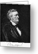 Cole Photo Greeting Cards - Richard Wagner (1813-1883) Greeting Card by Granger