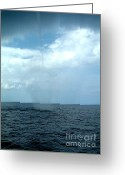 Supercell Greeting Cards - Waterspout Greeting Card by Science Source