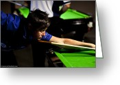 Cue Ball Greeting Cards - Australian Deaf Games 2012 Greeting Card by Edan Chapman
