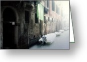 Back-light Greeting Cards - Venezia Greeting Card by Joana Kruse