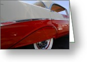 Old Car Door Greeting Cards - 56 Hardtop Greeting Card by Dennis Hedberg