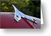 Chrome Jet Greeting Cards - 56 Take Off Greeting Card by David Lee Thompson