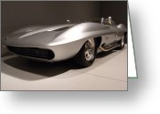Race Car Photo Greeting Cards - 59 Stingray 001 Greeting Card by Lance Vaughn