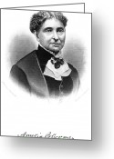 Bloomer Greeting Cards - Amelia Bloomer (1818-1894) Greeting Card by Granger