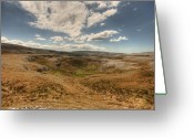 Kinvarra Greeting Cards - Burren landscape Greeting Card by John Quinn