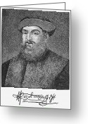 Autograph Greeting Cards - Ferdinand Magellan Greeting Card by Granger
