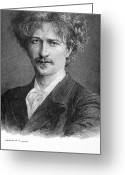 Autograph Greeting Cards - Ignace Jan Paderewski Greeting Card by Granger