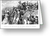 Rebellion Greeting Cards - India: Sepoy Rebellion, 1857 Greeting Card by Granger