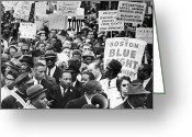 Civil Rights Photo Greeting Cards - Martin Luther King, Jr Greeting Card by Granger