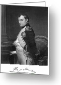 Signature Greeting Cards - Napoleon I (1769-1821) Greeting Card by Granger