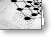 Periodic Greeting Cards - Periodic Table Greeting Card by Tek Image