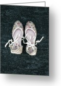 Floral Design Greeting Cards - Shoes Greeting Card by Joana Kruse