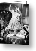 Viennese Greeting Cards - Silent Film Still: Drinking Greeting Card by Granger