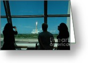 4th July Greeting Cards - Sts-121 Launch Greeting Card by Nasa