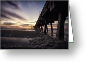 Sun Framed Prints Greeting Cards - Tybee Island Greeting Card by Gagan  Dhiman