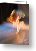 Kingston Greeting Cards - 64978  Dancer Greeting Card by John Walmsley