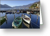 Mountain View Greeting Cards - Ascona - Lake Maggiore Greeting Card by Joana Kruse