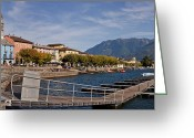 Apartment Greeting Cards - Ascona - Ticino Greeting Card by Joana Kruse