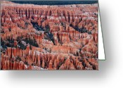 Thor Greeting Cards - Bryce Canyon Amphitheater Greeting Card by Pierre Leclerc
