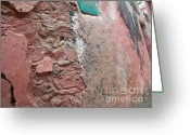 Birthright Greeting Cards - Goree Texture   Greeting Card by Fania Simon