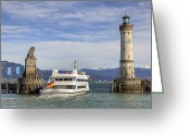 Exit Greeting Cards - Lindau Greeting Card by Joana Kruse