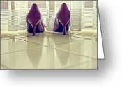 Ladies Photo Greeting Cards - Pumps Greeting Card by Joana Kruse