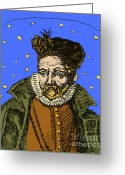 Accurate Greeting Cards - Tycho Brahe, Danish Astronomer Greeting Card by Science Source
