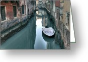Veneto Greeting Cards - Venezia Greeting Card by Joana Kruse