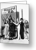 Tin Greeting Cards - Wizard Of Oz, 1939 Greeting Card by Granger