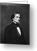 Mathew Greeting Cards - Jefferson Davis (1808-1889) Greeting Card by Granger