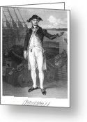 Signature Greeting Cards - John Paul Jones (1747-1792) Greeting Card by Granger