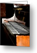 Steinway  Greeting Cards - 88 Keys Greeting Card by Bill Cannon