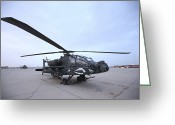 Agm-114 Greeting Cards - An Ah-64d Apache Longbow Block Iii Greeting Card by Terry Moore