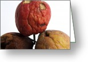 Time Stack Greeting Cards - Apples Greeting Card by Bernard Jaubert