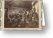 Emancipation Greeting Cards - Emancipation Proclamation Greeting Card by Granger