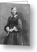 Cole Greeting Cards - Florence Nightingale Greeting Card by Granger