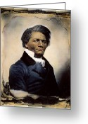 Daguerreotype Greeting Cards - Frederick Douglass Greeting Card by Granger