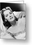 Greta Garbo Greeting Cards - Greta Garbo (1905-1990) Greeting Card by Granger